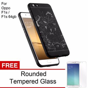 Oppo F1s A59 Black Source Calandiva Premium Front Back 360 Degree Full Protection .
