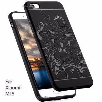 Calandiva Dragon Shockproof Hybrid Case untuk Xiaomi Mi 5 / Mi 5 Pro - Hitam