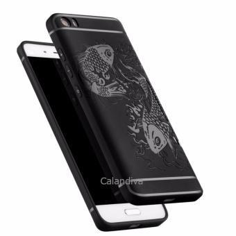 Calandiva Fish Slim Hybrid Case for Xiaomi Mi 5 / Mi 5 Pro - Hitam