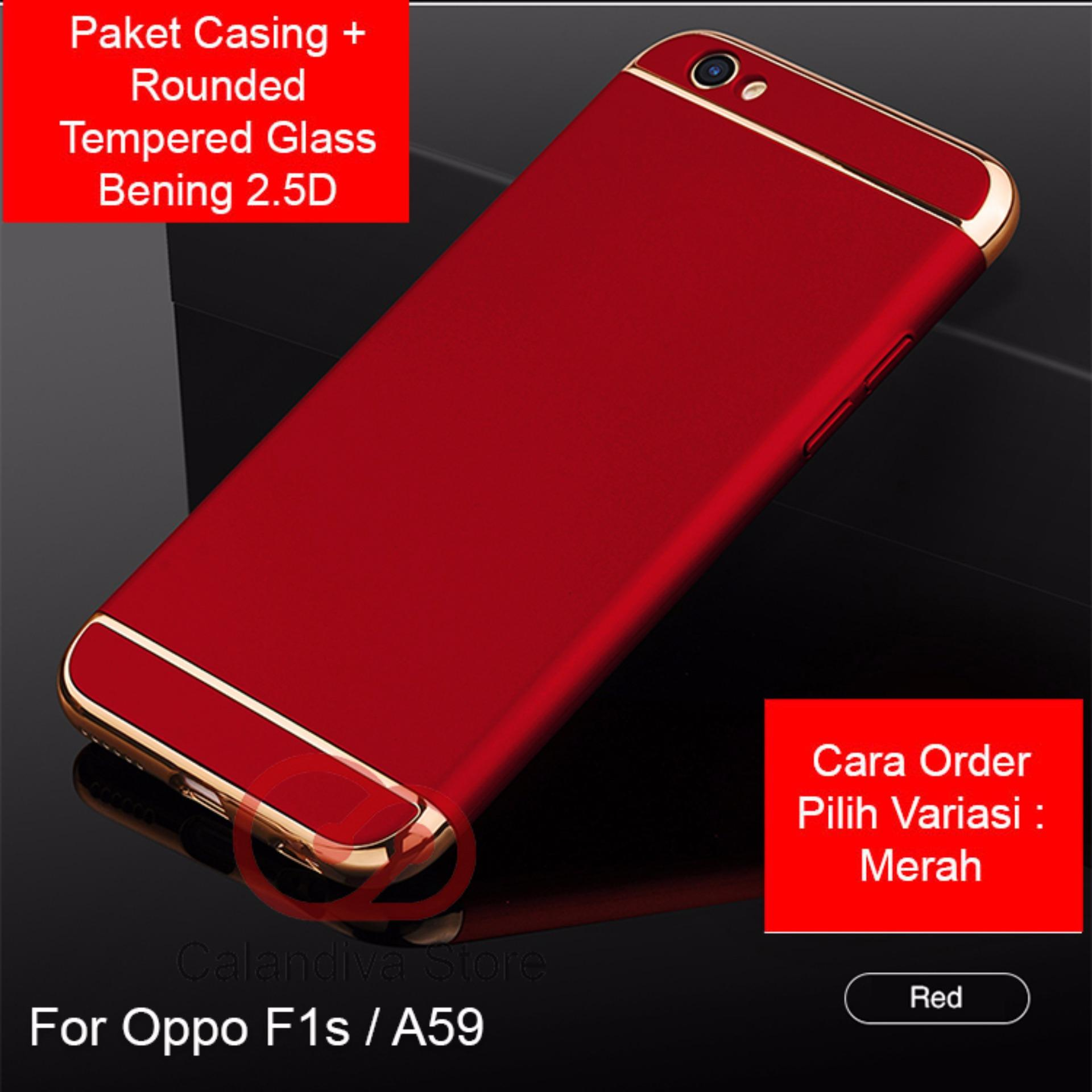 Calandiva Premium Front Back 360 Degree Full Protection Case For Luxury Tempered Glass Xiaomi Redmi Note 5 Hitam Review Of Quality Elegance Hardcase Oppo F1s A59 A59s 55