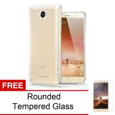 Calandiva Shockproof TPU Ultrathin Case untuk Redmi Note 2 / Prime / Pro - Clear +