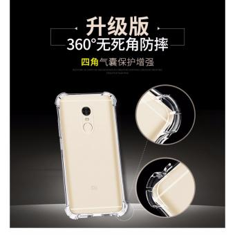Calandiva Shockproof TPU Ultrathin Case untuk Xiaomi Redmi Note 4 Mediatek / Redmi Note 4X Mediatek