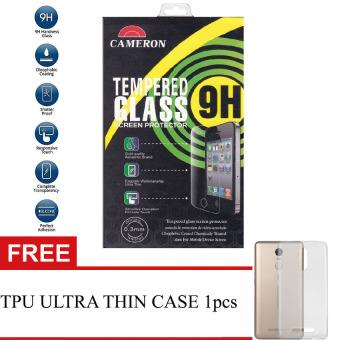 Cameron Premium Tempered Glass For Xiaomi Redmi Note 4 + Free TPU Ultra Thin case