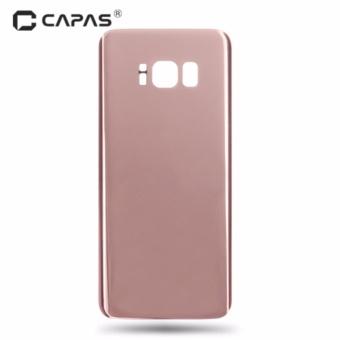 Capas Back Cover Rear Door Cover Penggantian Perbaikan Suku Cadang untuk Samsung Galaxy S8 G950-