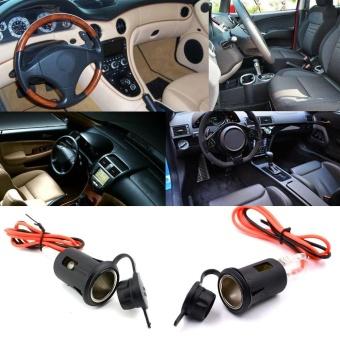 Mobil Sepeda Motor 12-24 V Tahan Air Ambil Kursi GPS Power Supply Charger Telepon