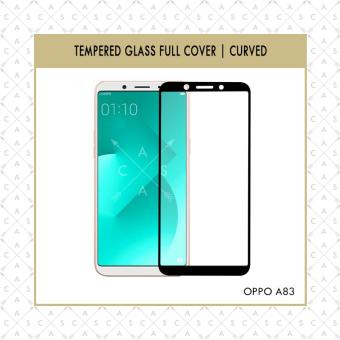 CASA Tempered Glass Warna / Color for Oppo A83 2018 [Full Cover] Black