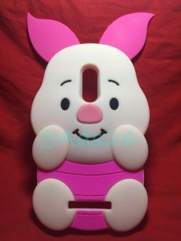 Case 4D Piglet Xiaomi Redmi Note 3 /Karakter/Softcase/3D/Rubber