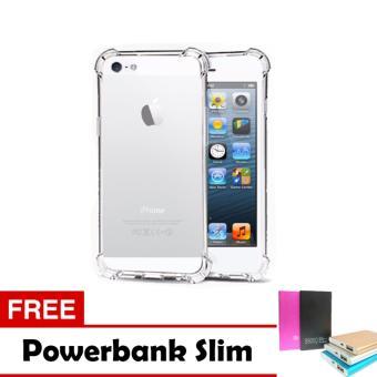 Case Anti Crack / Anti Shock Elegant Softcase Apple iPhone 5 / 5s / 5G -