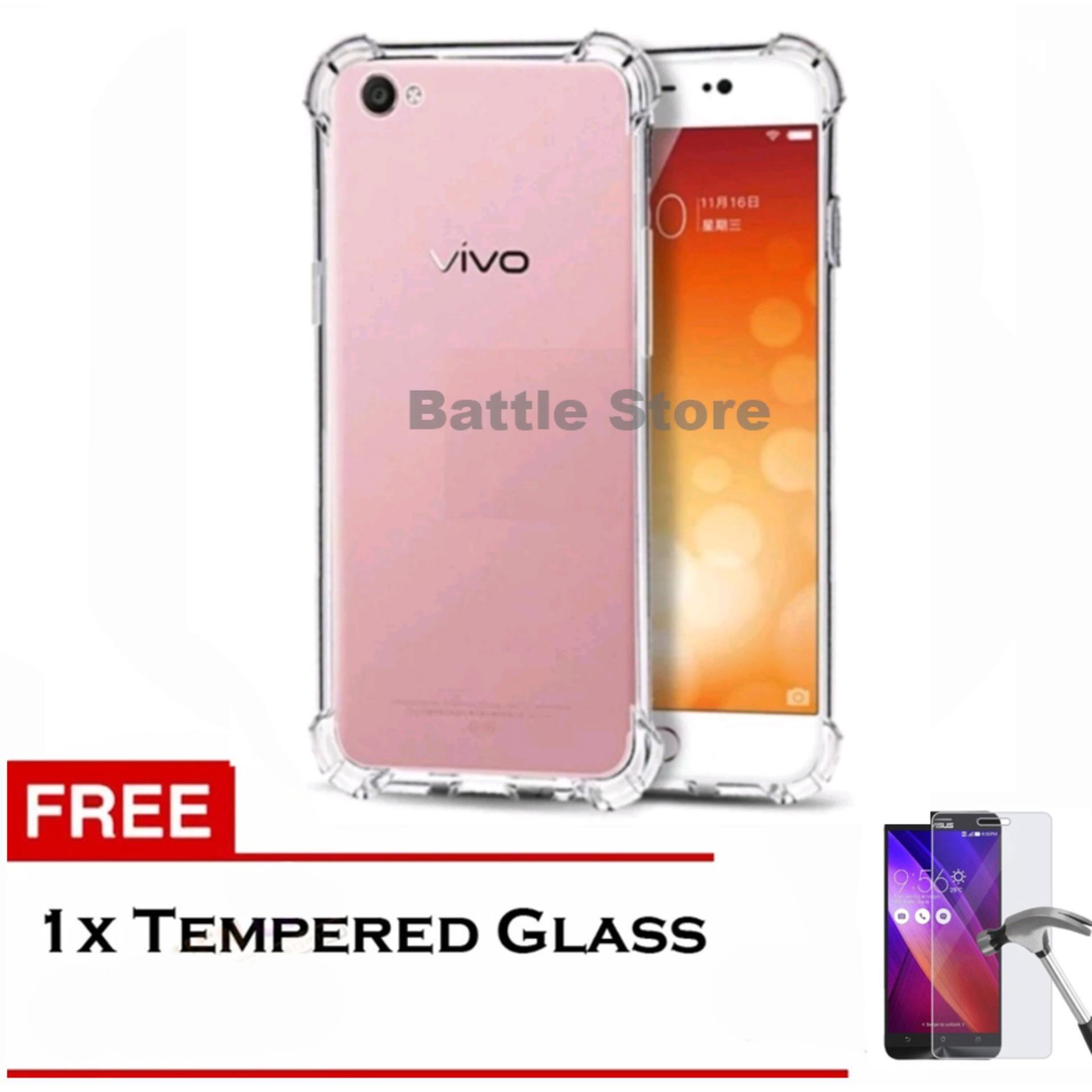 Cek Harga Baru Case Original Anti Shock Crack Elegan For Vivo Fuze Y51 Putih Elegant Softcase Y53 Free Tempered Glass