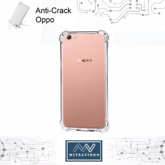 Case Anticrack Anti Shock / Anti Crack Elegant Softcase for Oppo A37/ Neo 9 - White Clear ...