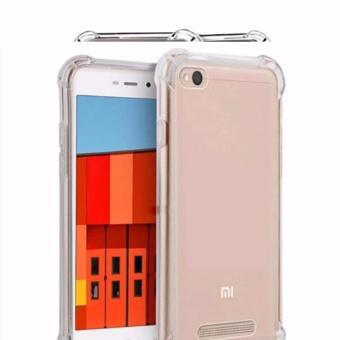 Case Anti Shock / Anti Crack Elegant Softcase for Xiaomi Mi 5C- White Clear ...