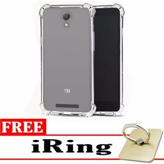 Case Anti Shock / Anti Crack Elegant Softcase for Xiaomi Redmi Note 2 - White Clear