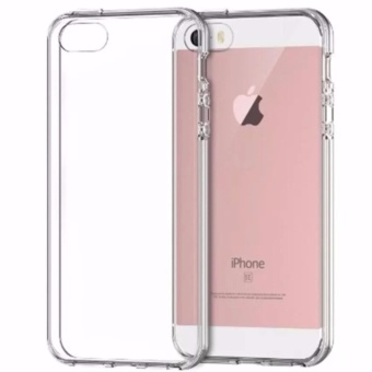 Case Anti Shock Anti Crack Softcase Casing for iPhone 6 Plus / 6s Plus - Clear