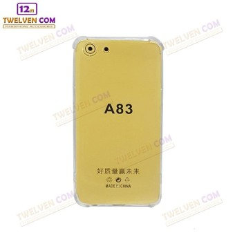 Case Anti Shock Anti Crack Softcase Casing for Oppo A83 - Clear