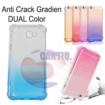 Case Anti Shock Gradient Samsung Galaxy J5 Prime Ultrathin Anti Crack Elegant Softcase Anti Jamur Air