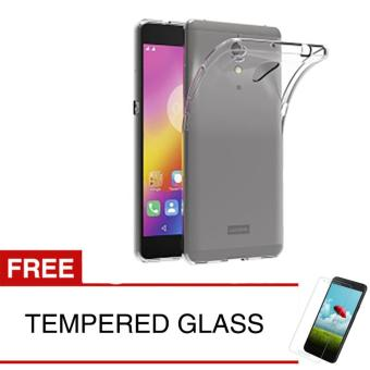 Case for Lenovo P2 Turbo / P2a42 - Clear + Gratis Tempered Glass - Ultra Thin