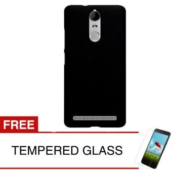 Case for Lenovo Vibe K6 Power - Slim Soft Case - Hitam Solid + Gratis Tempered