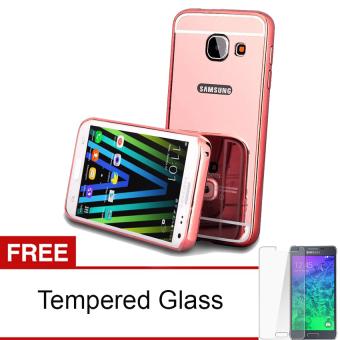 Case For Samsung Galaxy A3 2016 A310 Bumper Slide Mirror
