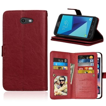 Case for Samsung Galaxy J7 (2017) Prime / Emerge (American Version) Leather