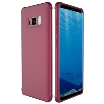 Case untuk Samsung Galaxy S8 Plus Diperkuat Shock-Proof Bumper Scratch-Resistant Lembut TPU