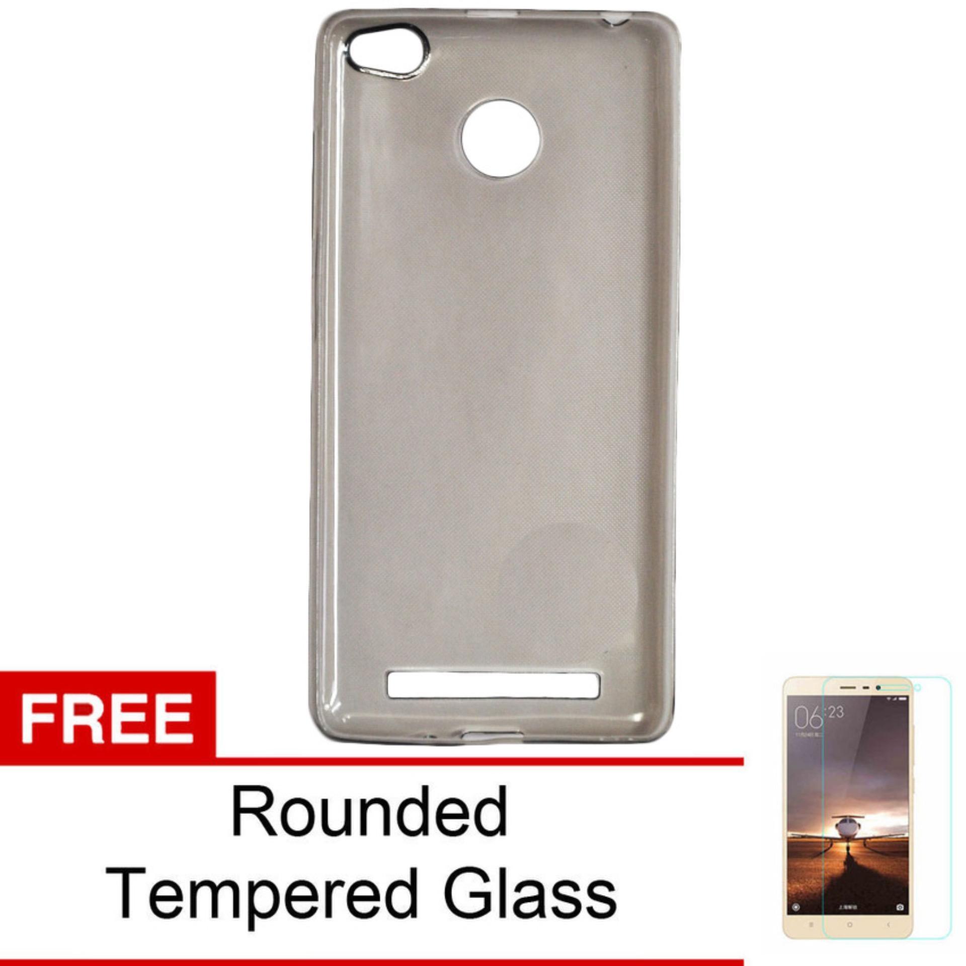 ... CLEAR FREE TEMPERED GLASS. Discount Case For Xiaomi Redmi 3S / Redmi 3 Pro Ultrahin Air Case Series - Abu