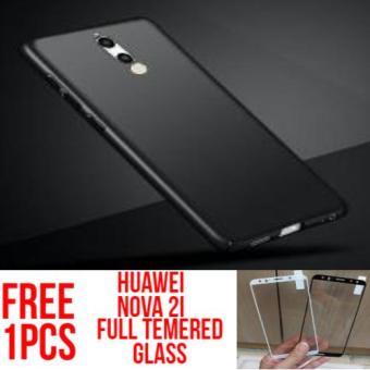 Case Hardcase Huawei Nova 2i baby Skin Ultra Thin Hardcase Free Full Tempered Glass Hitam/