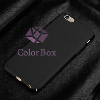 Case Mate Anti Fingerprint Hybrid Case Baby Skin Apple iPhone 6 5.5 inch Baby Soft Iphone Babby Skin iPhone 6s Plus Hardcase Apple iPhone 6G Plus / casing iPhone 6 Plus Casing iPhone 6S 5.5 inch Hardcase Eco 360 Iphone6+  - Black