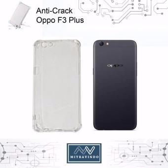 Case Anticrack Oem Anti Shock / Anti Crack Elegant Softcase for Oppo f3 Plus - White