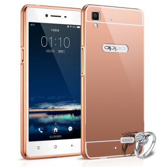 ... Case Metal for Samsung Galaxy J7 Prime Aluminium Bumper With MirrorBackdoor Slide Gold Source Case Oppo