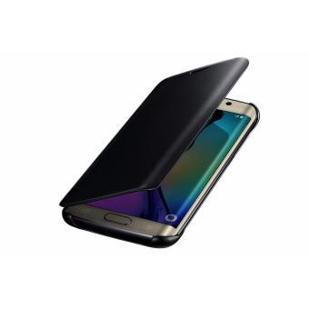 Case Samsung Galaxy J5 Prime Flipcase Flip Mirror Cover S View Transparan Auto Lock Casing Hp