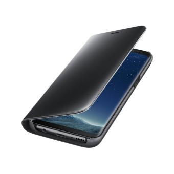 Shock Price Case Samsung Galaxy S8 Plus Flipcase Flip Mirror Cover S View Transparan Auto Lock