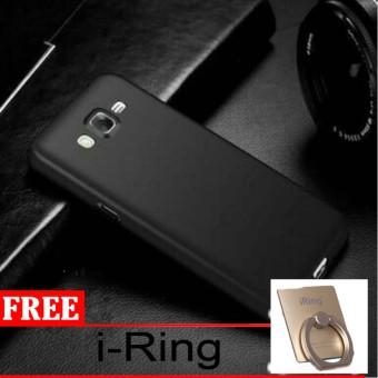 Case Slim Black doff Matte for Samsung Galaxy J210 / J2 2016 Anti minyak + free