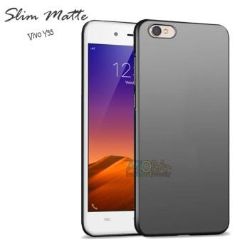 Case Slim Black Matte Vivo Y55 Baby Skin Softcase Ultra Thin Jelly Silikon Babyskin