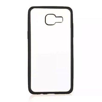 Case Ultrathin Shining Chrome for Samsung Galaxy A5 (A510) - Hitam