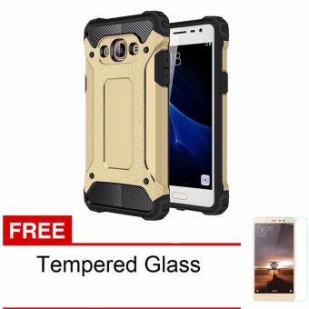Casing Handphone Untuk Samsung Galaxy J510 / J5 2016 Slim Armor Carbon Series + Free Tempered