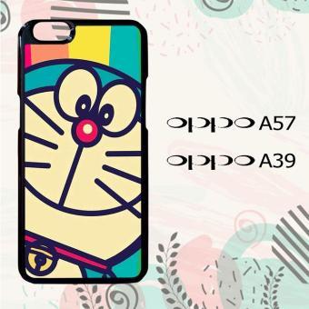 Casing OPPO A57 | OPPO A39 Custom Hardcase HP Doraemon Rainbow L0129