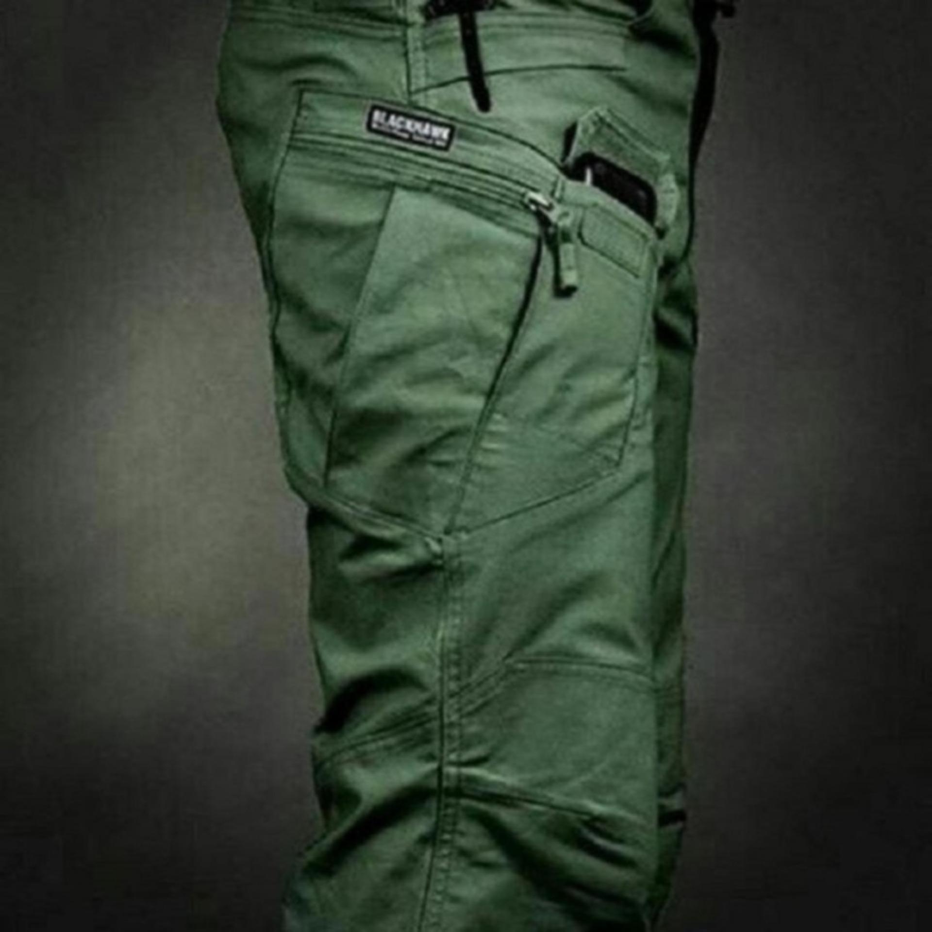 Celana Panjang Tactical BlackHawk - HIJAU