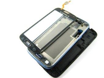 Cover Housing + Sentuh Layar Digitalisasi untuk Samsung GALAXY CORE Duos GT- i8262 ~ Blue