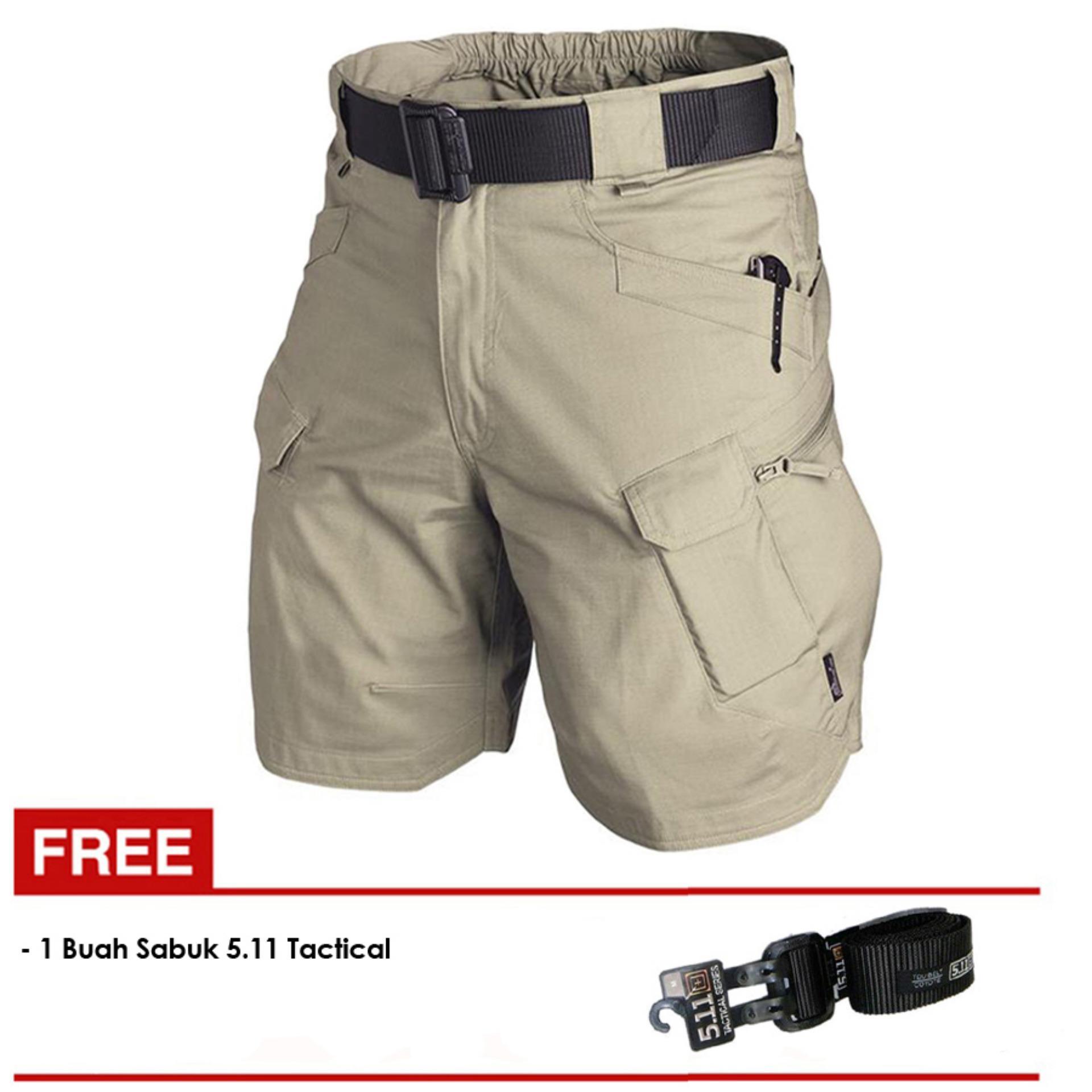 Cek Harga Baru 7dayofweek Kemeja Tactical Pria Outdoor Cream Best Pdl Premium Seller Dections Celana Pendek Sabuk 511