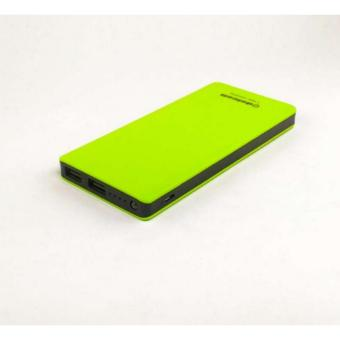 Delcell ECO Powerbank 10000mAh Real Capacity - Green
