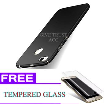Delkin Hard Case for Xiaomi Redmi 4X + Free Tempered Glass
