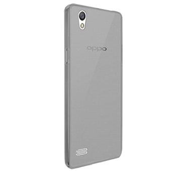 Delkin Ultrathin Softcase Oppo Mirror 5 - Abu abu Muda