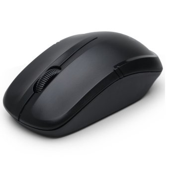 Delux M136 Wireless Optical Mouse - Hitam