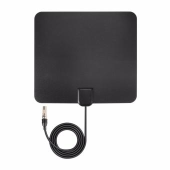 Digital HDTV Antena TV Amplifier Udara Sinyal Booster 35 Miles Range AH344-Intl