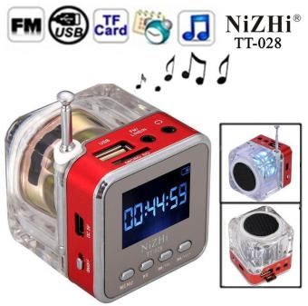 Digital Portable MP3 Player TF USB Disk Speaker FM Radio Display TT028-Intl