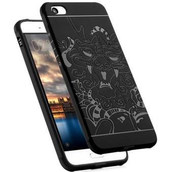 Dragon Shockproof Hybrid Back Case for Xiaomi Mi 5 / Mi5 - Black