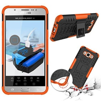 Dual Layer Hybrid Armor Case Detachable [kickstand] 2 In 1 Shockproof Tough Rugged Case