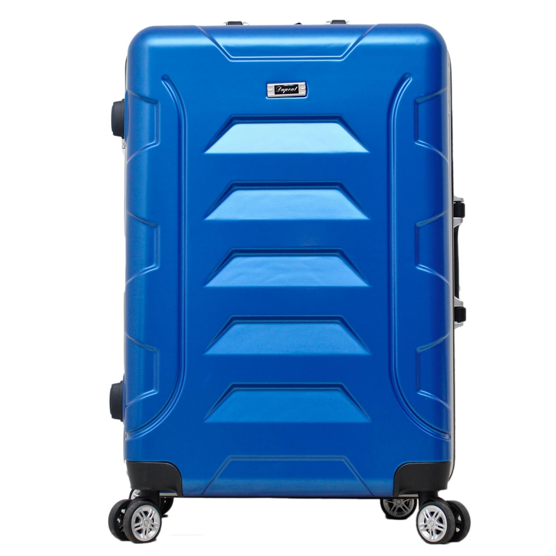 Dupont Koper Hardcase NO ZIPPER size 24 inch - 8771 - Biru