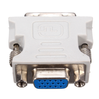 DVI-D (18+1) Dual Link Male to VGA 15 Pin Female