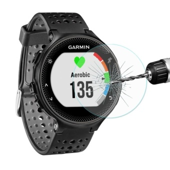 ENKAY Hat-Prince For Garmin Forerunner 235 Smart Watch 0.2mm 9HSurface Hardness 2.15D Explosion-proof Tempered Glass Full ScreenFilm - intl